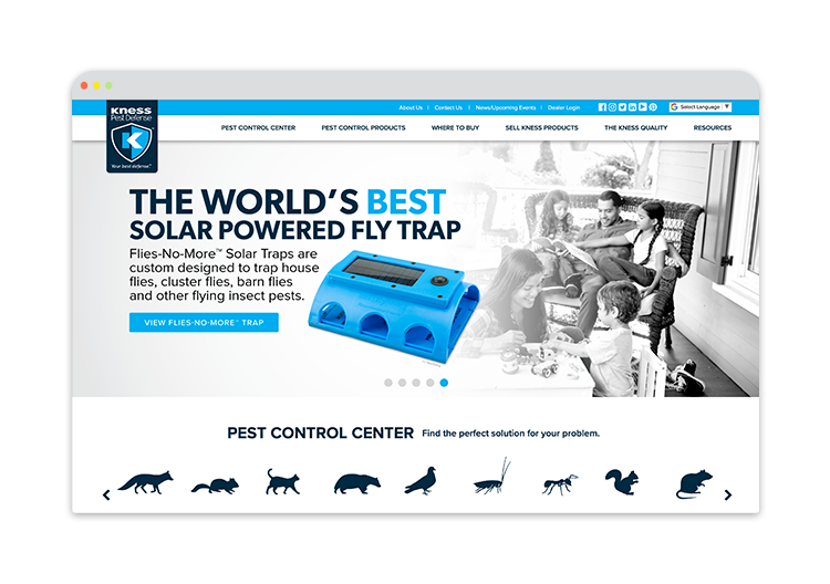 Custom Website Pest Traps Manufacturing
